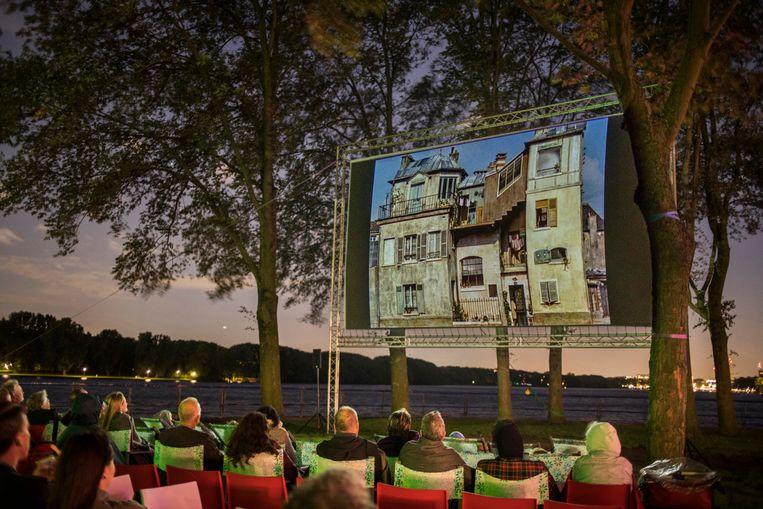 Tijdens het West Beach Festival is meer te doen dan het bekijken van films alleen. Beeld Marlise Steeman