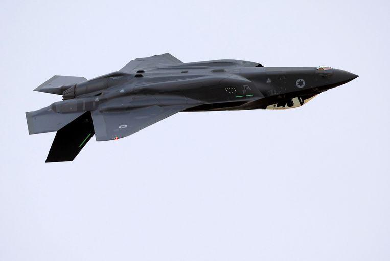 Een F-35 van het Israëlische leger. De F-35 is een grote kanshebber om de Belgische F-16's te vervangen.