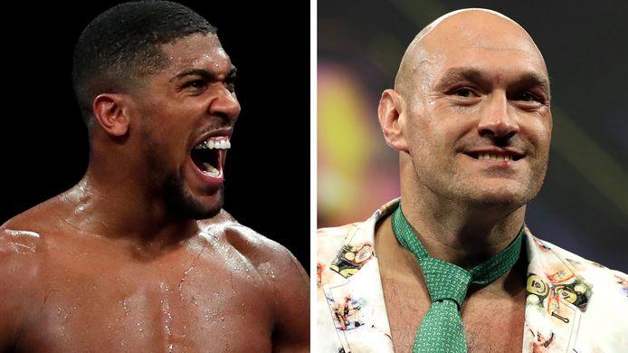 Anthony Joshua et Tyson Fury.