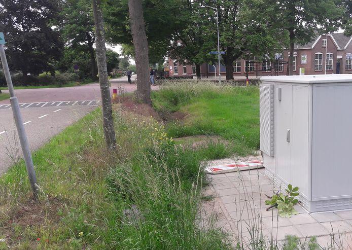 In Lintelo is het netwerk al te zien aan de grijze kast, die op de kruising bij basisschool De Klimop is geplaatst. Van hier af kunnen alle woningen in de dorpskern worden aangesloten.