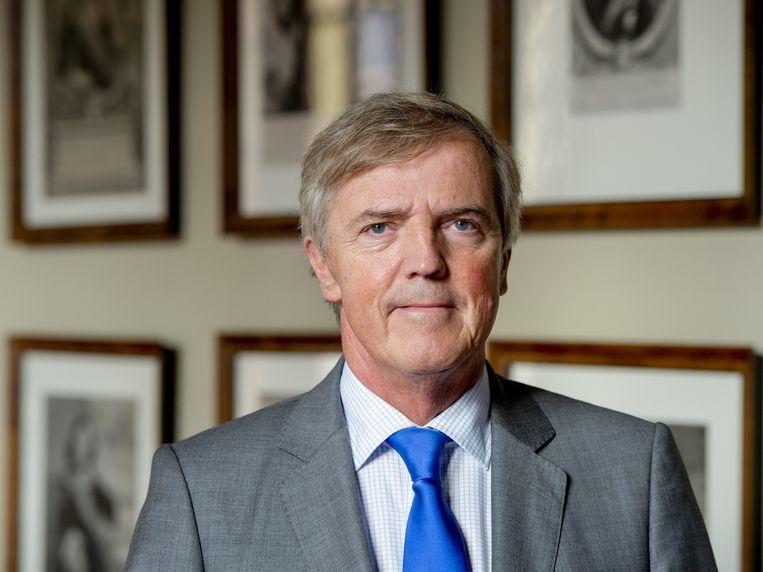 Loek Hermans stapte deze week op als fractievoorzitter van de VVD in de Eerste Kamer vanwege zijn rol in het faillissement van Meavita. Beeld anp