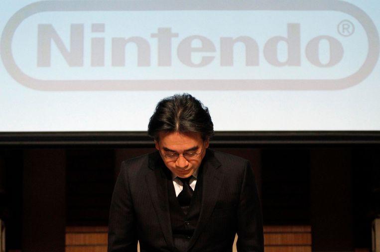 Nintendobaas Satoru Iwata Beeld REUTERS