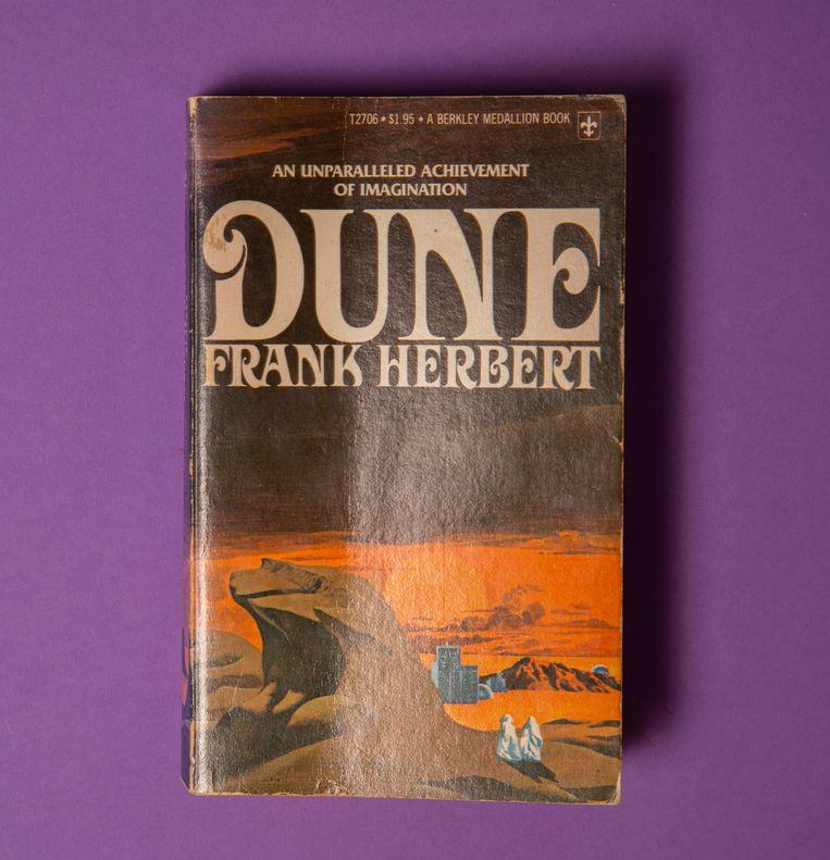 Dune, paperbackeditie uit 1976. Beeld Studio V