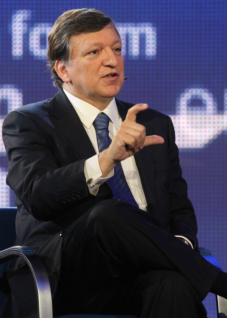 José Manuel Barroso. Beeld AP