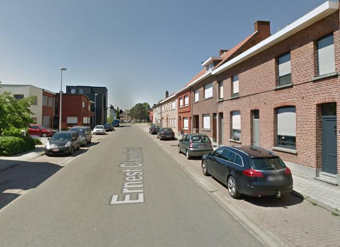 Ernest Claesstraat op Linkeroever