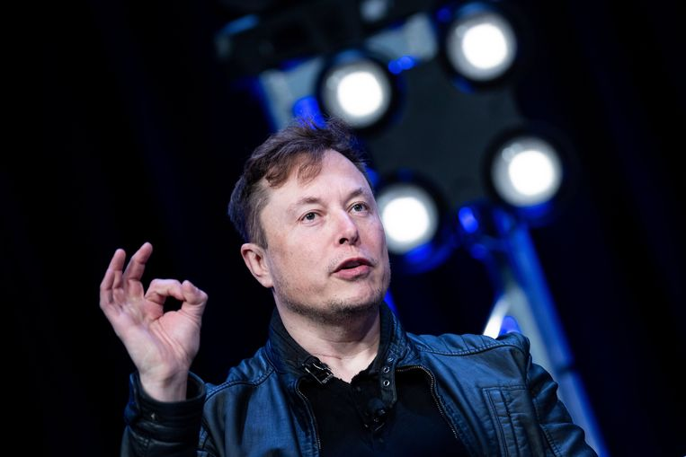 Tesla-baas Elon Musk. Beeld AFP