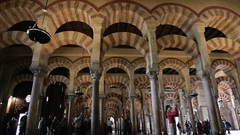 De Mezquita, de Grote Moskee annex kathedraal in Córdoba. Beeld ap