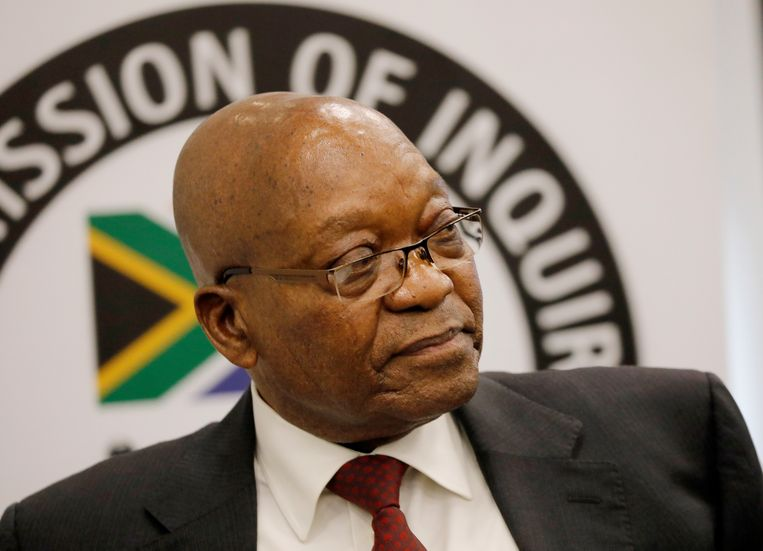 Jacob Zuma. Beeld EPA