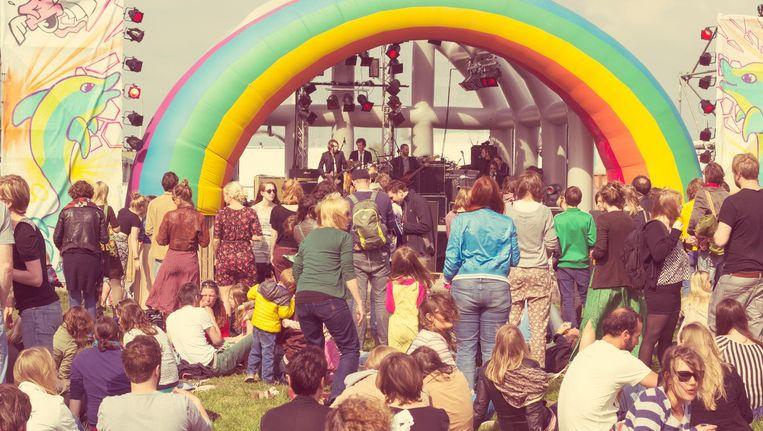 Tijdens Hemelvaart kun je dansen en zingen op het Hemeltjelief Festival. Beeld Gerda Kreeft