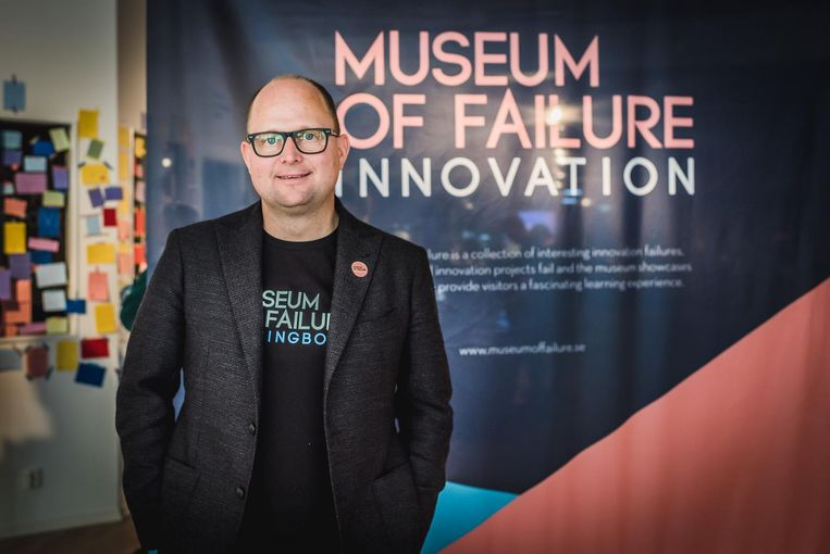 Samuel West, initiatiefnemer Museum of Failure. Beeld Penguin Vision Photography