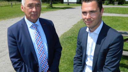 Burgemeester De Blaere lanceert zoon Kristof