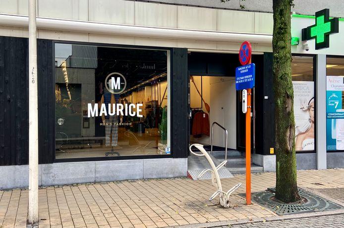 Maurice Men's Fashion ligt op Paalstraat 18 in Schoten