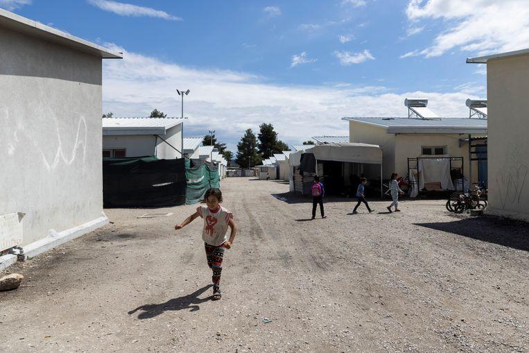 De omstandigheden in vluchtelingenkampen in Griekenland zouden zo verslechterd zijn dat vluchtelingen die hier vandaan komen niet zonder meer mogen worden teruggestuurd.  Beeld Reuters