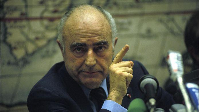 L'ancien Premier ministre belge Paul Vanden Boeynants