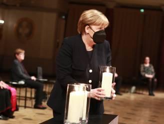Duitsland herdenkt zijn 80.000 coronadoden