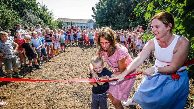 """Kinderen krijgen les in zelf aangeplant bos: """"Hier kunnen ze zich beter concentreren"""""""