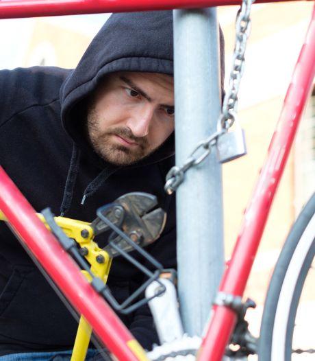 Zet je fiets goed op slot: fietsendieven worden weer actiever rond centrum Etten-Leur