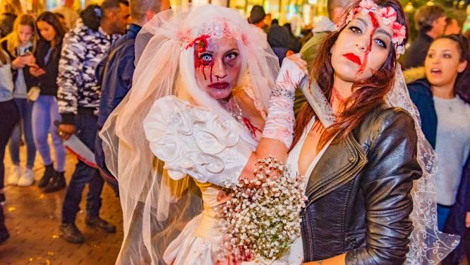 Mysterieus briefje over 'duivels feest' schrikt Halloweenliefhebbers niet af: 'Weet je wat je viert'
