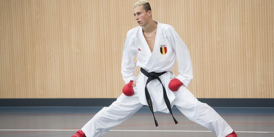 Quentin Mahauden, 20 ans, n'est pas parvenait à se qualifier pour les JO. Il a échoué aux portes de la qualification olympique à Paris.