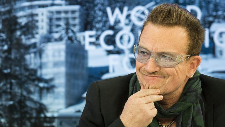 U2-zanger Bono. Beeld epa