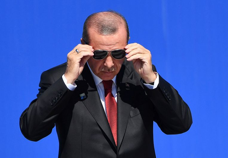 Turkse president Recep Tayip Erdogan. Beeld AP
