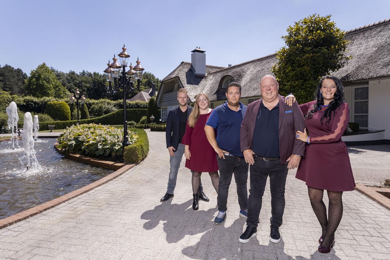 De familie van selfmade miljonair Peter Gillis.