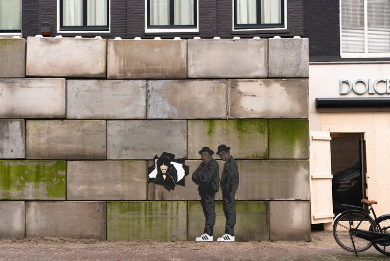 P.C. Hooftstraat Beeld Frankey