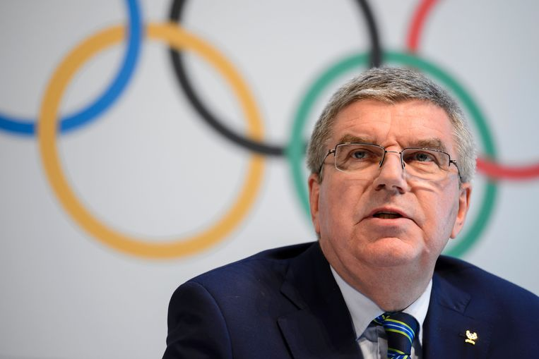 IOC-voorzitter Thomas Bach. Beeld AFP