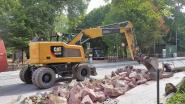 Fietspad opgebroken… om van Basiliekstraat fietsstraat te maken