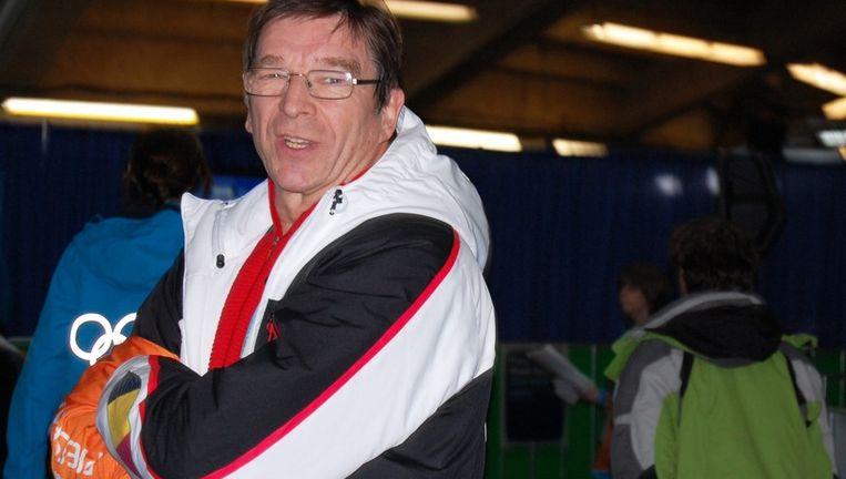 Delegatieleider Eddy De Smedt had meer verwacht van de Belgen in Vancouver. Beeld UNKNOWN