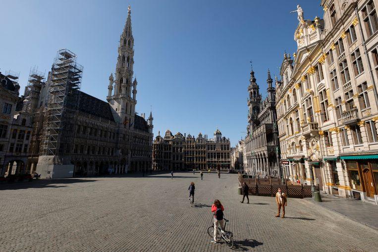 Grote Markt in Brussel. Beeld Photo News