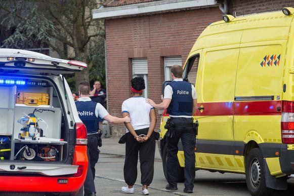 De vrouw werd kort na de feiten geboeid meegenomen en bleef tot deze week in de gevangenis.