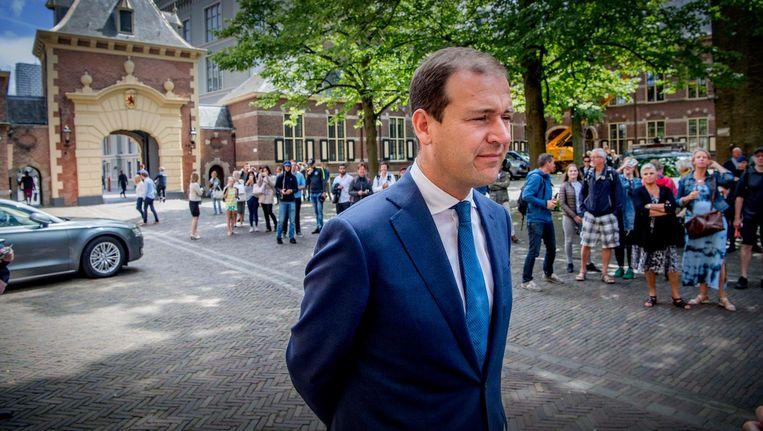Demissionair minister van Sociale Zaken en Werkgelegenheid en vicepremier Lodewijk Asscher (PvdA). Beeld anp