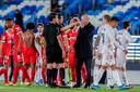 Zinédine Zidane beklaagt zich bij arbiter