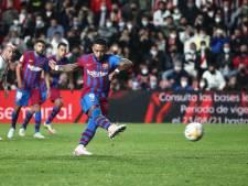 Nóg een dreun voor Koeman: onmachtig Barça na gemiste strafschop Memphis onderuit bij Rayo