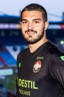 Arijanet Muric, de nieuwe keeper van Willem II.