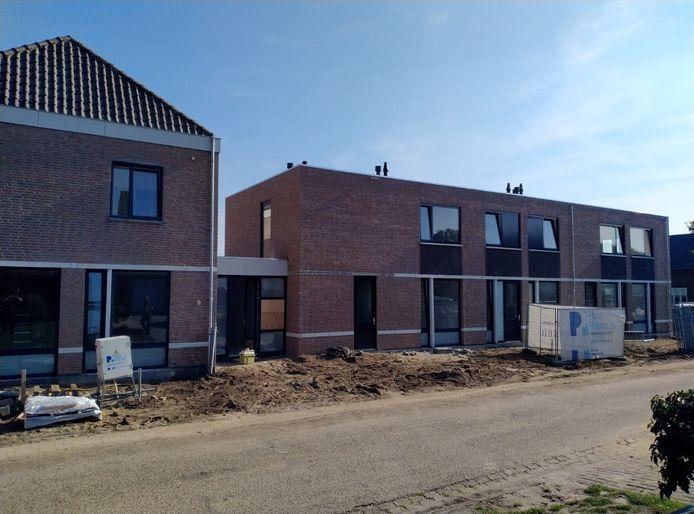Nieuwe appartementen aan de Hoefstraat in Sint Anthonis.