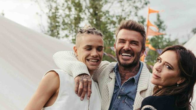 Romeo Beckham is het nieuwe gezicht van Yves Saint Laurent