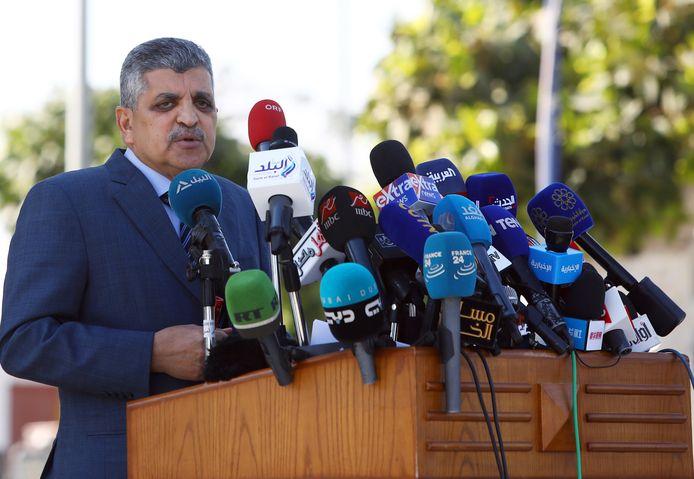 Ossama Rabie, le chef de l'Autorité égyptienne du canal de Suez (SCA).