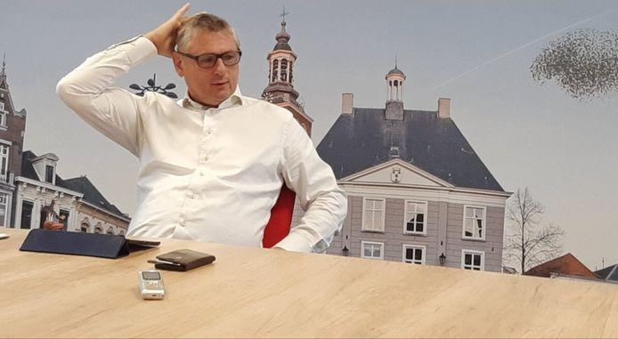 Wethouder Toine Theunis (Roosendaalse Lijst) van de gemeente Roosendaal.