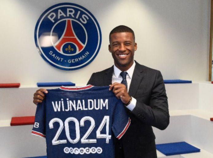 Georginio Wijnaldum heeft een contract tot 2014 bij Paris Saint-Germain.
