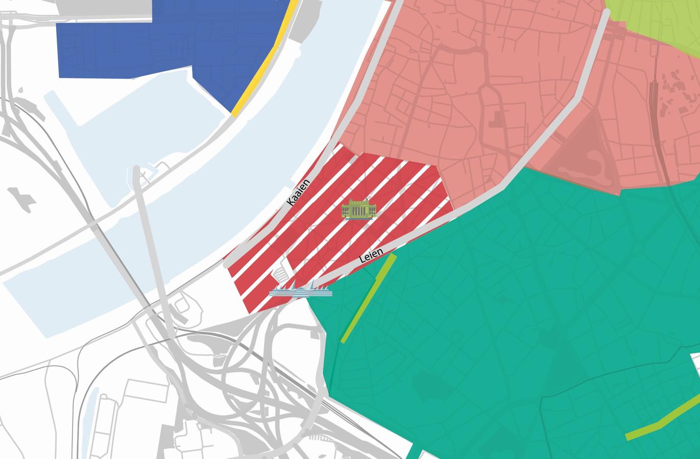 Zuid en Nieuw Zuid worden een rode parkeerzone vanaf maandag.