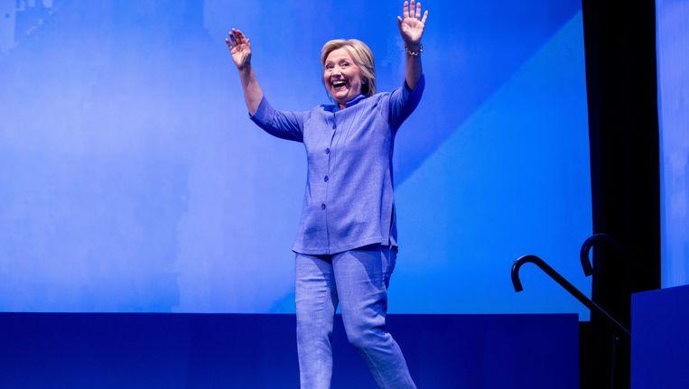 Hillary Clinton is de Democratische presidentskandidate. Beeld AP