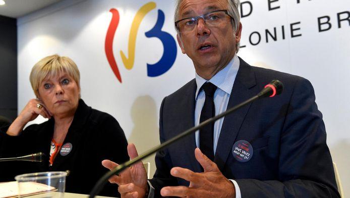 """""""Il est clair que l'argent qui remonte vers des actionnaires étrangers n'est pas réinvesti dans la production locale..."""", a commenté l'administrateur-général de la RTBF Jean-Paul Philippot."""