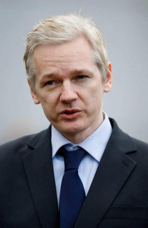 Wikileaks-oprichter Julian Assange. Beeld AP