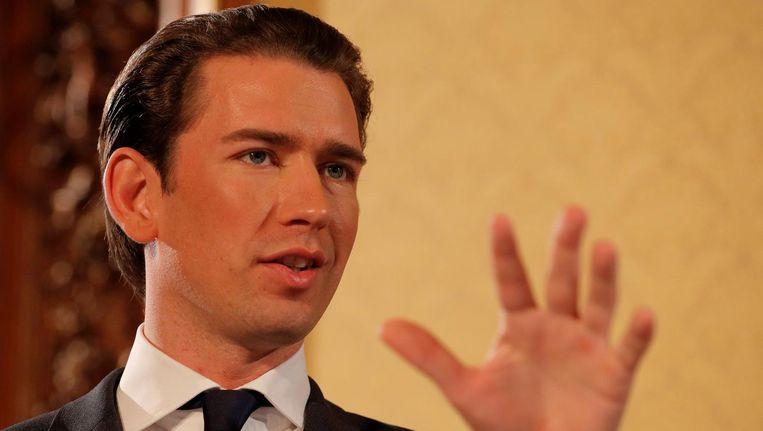 'In 'Mitteleuropa' broeit het na de overwinning van de Oostenrijkse politicus Sebastian Kurz.' Beeld reuters