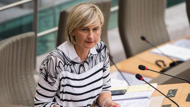 Vlaams minister van Onderwijs Hilde Crevits Beeld belga