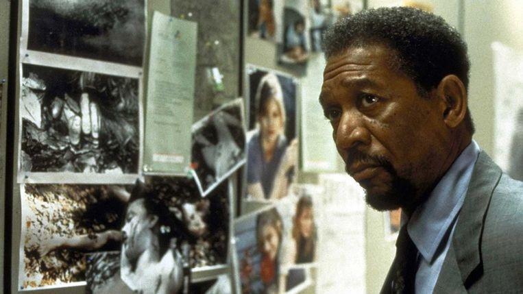 Morgan Freeman in Kiss the Girls van Gary Fleder Beeld
