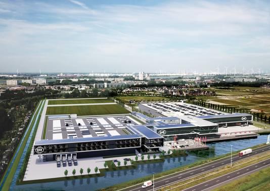 Een impressie van het vernieuwde complex van Lely, dat half 2022 klaar moet zijn.