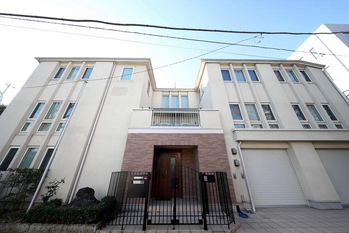 Het huis waar Ghosn onder huisarrest stond in Tokyo.